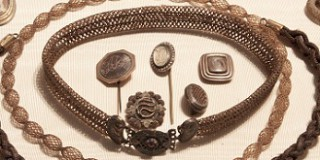 Human Hair Jewelry Pieces
