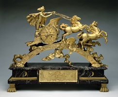 Mantle Clock, Phaeton in Chariot chasing the sun