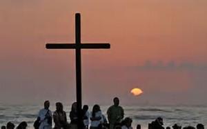 Sunrise Service at Vilano Beach