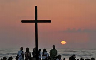 Sunrise Service at Vilano Beach