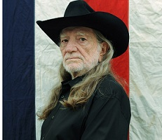 Willie Nelson Press Photo