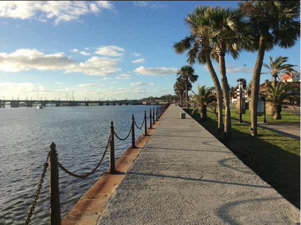 St. Augustine, Romantic Places in Florida, Matanzas River, Bay front