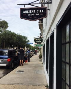 Ancient City Brewing in St. Augustine FL