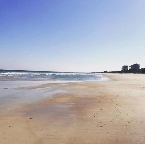 A Morning On Vilano Beach