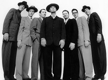 Big Bad Voodoo Daddy Press Photo