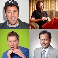 Sandler, Spade, Swardson, & Schneider, Here Comes The Funny Tour