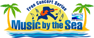 Music by the Sea Free Concert Series Logo