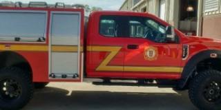 St. Augustine Fire Department New Firetruck