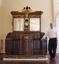Lightner Museum Curator Barry Myers
