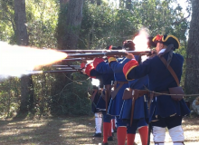 Fort Mose Musket Firing