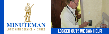 Minuteman Locksmith...24 Hour Service