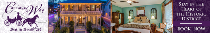 Carriage Way Bed & Breakfast ..in the heart of the Historic District