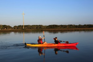 Kayaking with St. Augustine Eco Tours