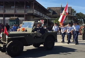 Veterans Day Parade St. Augustine