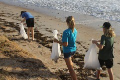 Young Volunteers from 2016 International Coastal Cleanup