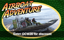 Sea Serpent Tours - Airboat Adventure