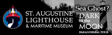 St. Augustine Lighthouse & Maritime Museum...Experience our Dark of the Moon Tour