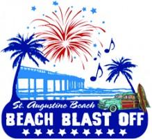 St. Augustine Beach Beach Blast Off