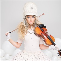 Lindsey Stirling Holiday Photo
