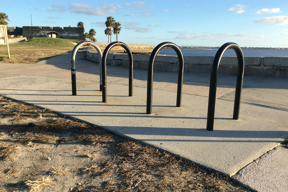 St. Augustine Bicycle Parking