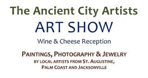 Come out to the Ancient City Artists Art Show featuring paintings, photography, and jewelry by local artists.
