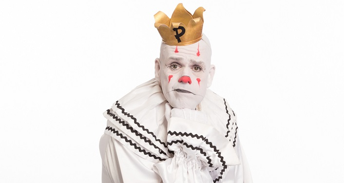 "Puddles Pity Party, the fringe performance artist described as the ""Sad Clown with the Golden Voice"", returns to the Ponte Vedra Concert Hall"