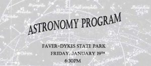 Astronomy Program at Faver-Dykes