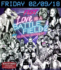 Fest Wrestling Presents Love Is a Battlefield 2 at the Backyard at the Amphitheatre
