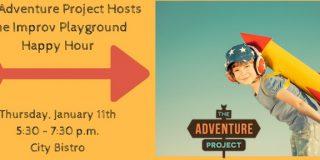 Improv Playground Happy Hour at City Bistro