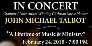 John Michael Talbot in Concert at Corpus Christi Catholic Church