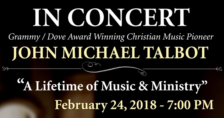 John Michael Talbot in Concert at Corpus Christi Catholic Church
