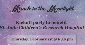 Miracle in the Moonlight Benefit at Blackfly Restaurant for St. Jude