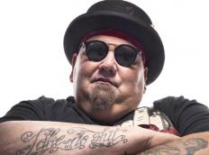 Blues musician, Popa Chubby