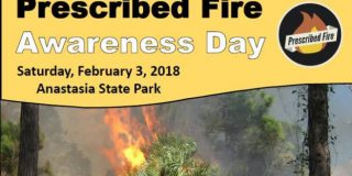 Prescribed Fire Awareness Day at Anstasia