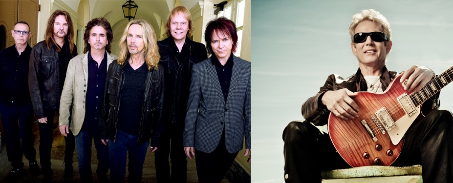 STYX and Don Felder performing at the St. Augustine Ampheathre