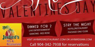 Valentine's Day Celebration at Jaybird''s