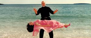 Viktor Zanko, magician and comedian, practices levitation.