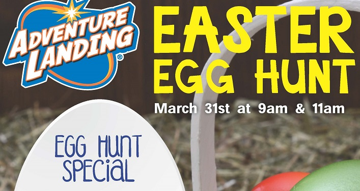 Adventure Landing Annual Easter Egg Hunt