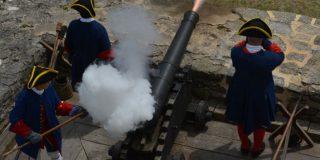 Cannon Firing Fort Matanzas