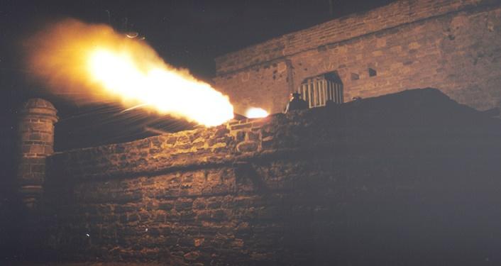 Fort Matanxas at Night