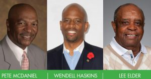 Hall of Fame Speaker Series celebrating African-American History Month.