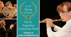 St. Augustine Community Band 2018 Spring Concert at Pacetti Bay Middle School