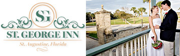 St. George Inn in downtown St. Augustine is the place for honeymooning couples to stay