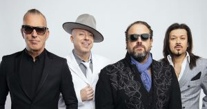 The Mavericks on stage at the Ponte Vedra Concert Hall