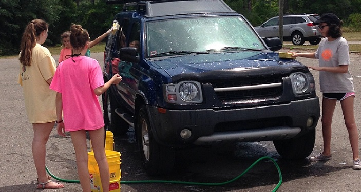 Youth Car Wash Fundraiser at Shores United Methoidist Church