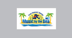 text; Music by the Sea Free Concert Series 2019