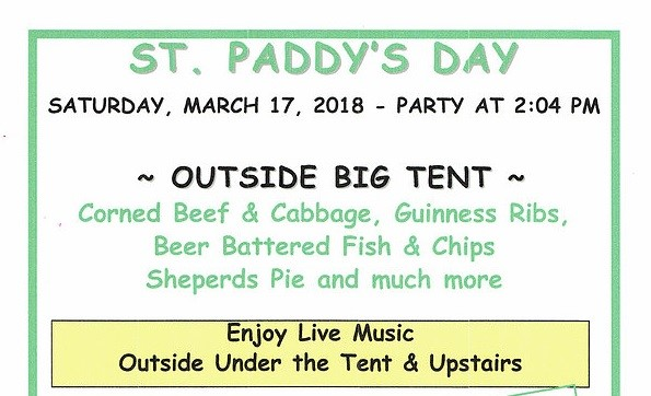 Celebrate St. Paddy's Day at The World Famous Oasis