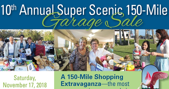A shoppers paradise...the 10th Annual 150 Mile Super Scenic Garage Sale