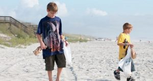 Be a good steward of the beach and join in the Beach Clean-Up at Vilano