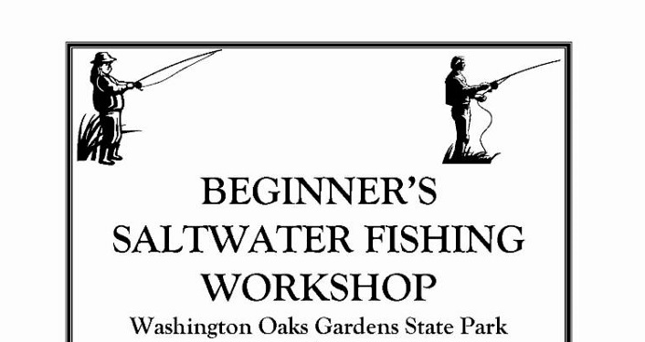 Beginner's Saltwater Fishing Workshop